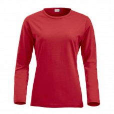 Camiseta Fashion-T L/S Ladies 029330 Rojo 35