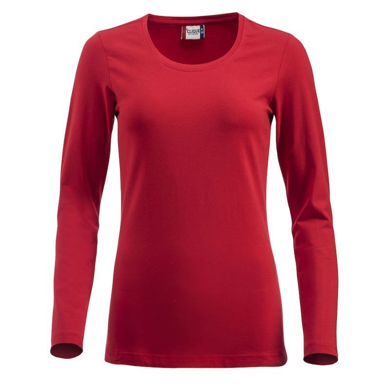 Camiseta Carolina L/S 029319 Rojo 35